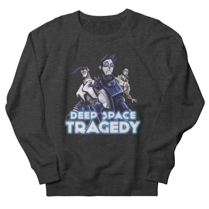 Deep Space Tragedy Logo Women's French Terry Sweatshirt by Cosmic Times's Artist Shop