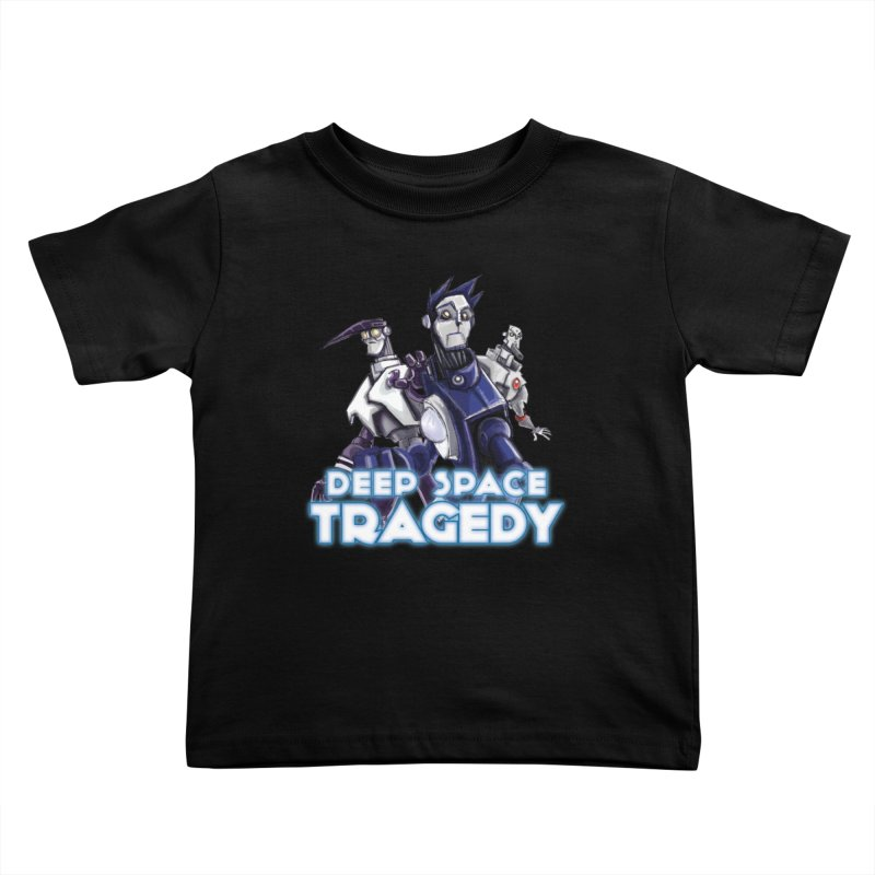 Deep Space Tragedy Logo Kids Toddler T-Shirt by Cosmic Times's Artist Shop