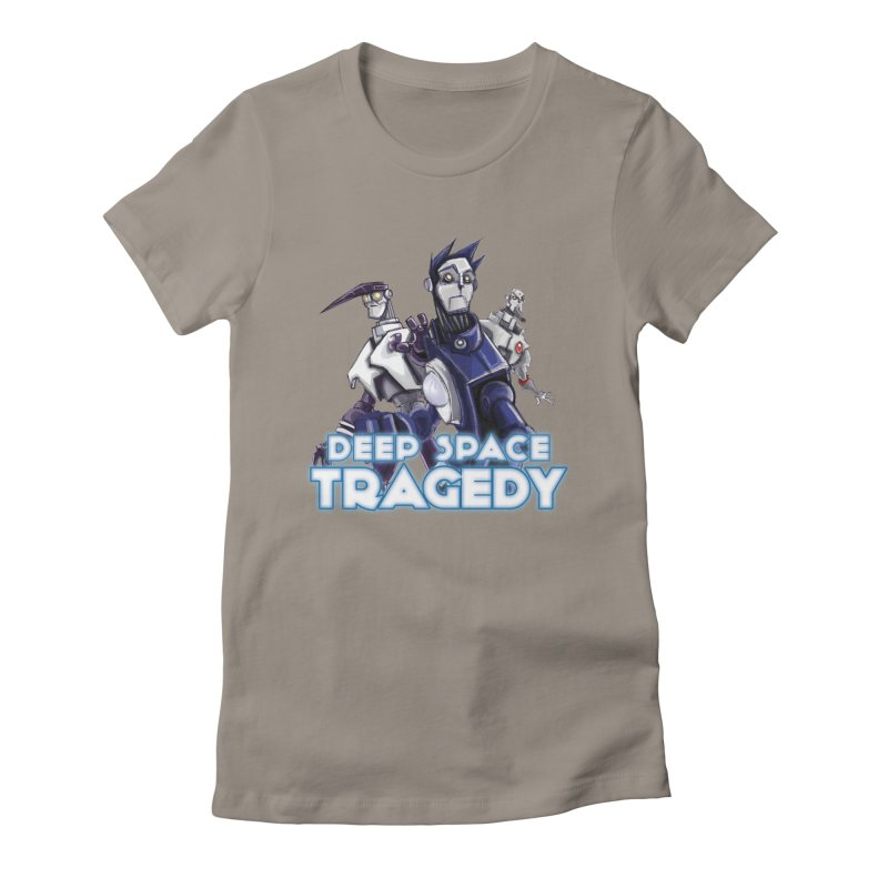 Deep Space Tragedy Logo Women's T-Shirt by Cosmic Times's Artist Shop