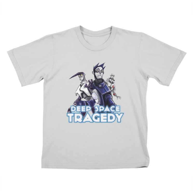 Deep Space Tragedy Logo Kids T-Shirt by Cosmic Times's Artist Shop