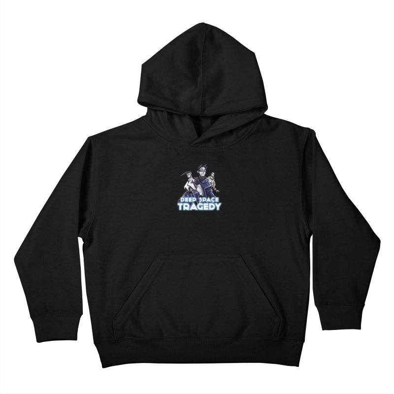 Deep Space Tragedy Logo Kids Pullover Hoody by Cosmic Times's Artist Shop