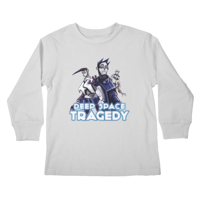 Deep Space Tragedy Logo Kids Longsleeve T-Shirt by Cosmic Times's Artist Shop