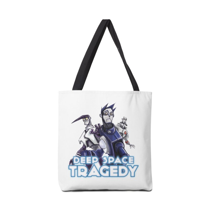 Deep Space Tragedy Logo Accessories Tote Bag Bag by Cosmic Times's Artist Shop