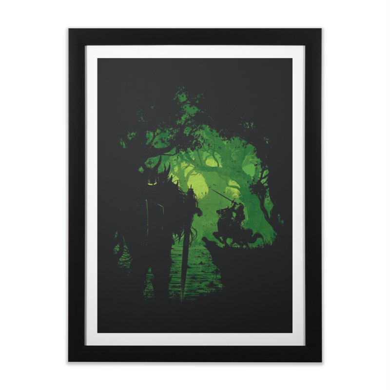 Warriors Home Framed Fine Art Print by Robson Borges