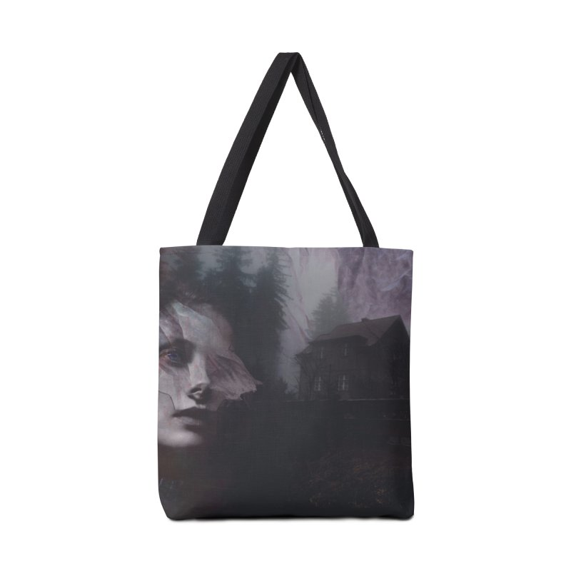 Ghost of Saturday Accessories Tote Bag Bag by George Ravenkult Cotronis