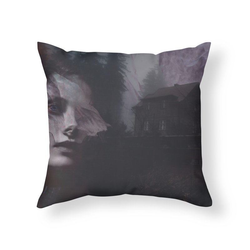 Ghost of Saturday Home Throw Pillow by George Ravenkult Cotronis