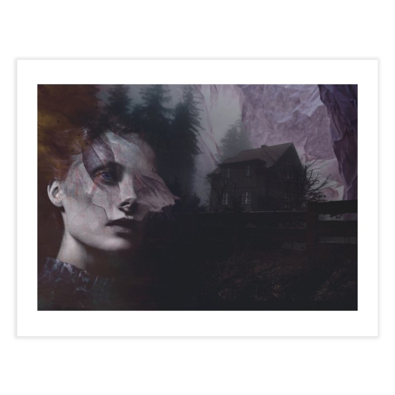 Ghost of Saturday Home Fine Art Print by George Ravenkult Cotronis