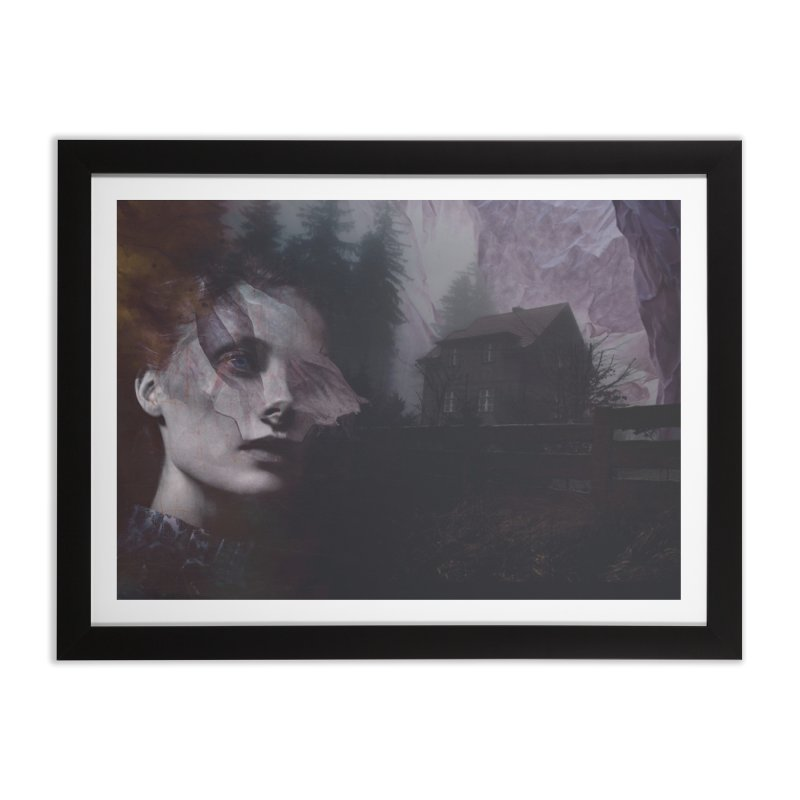Ghost of Saturday Home Framed Fine Art Print by George Ravenkult Cotronis