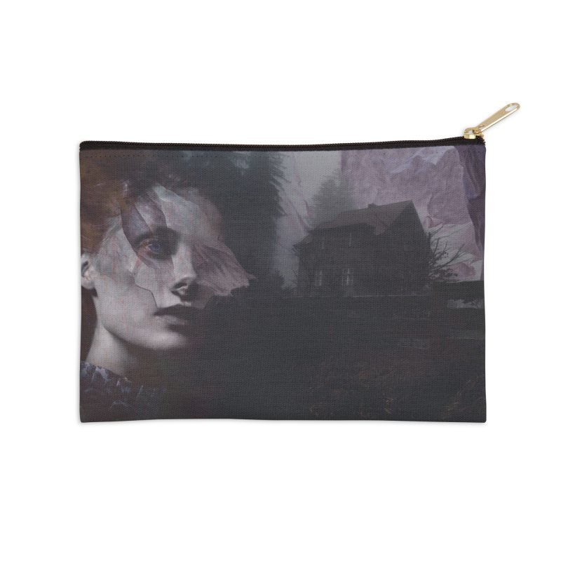 Ghost of Saturday Accessories Zip Pouch by George Ravenkult Cotronis