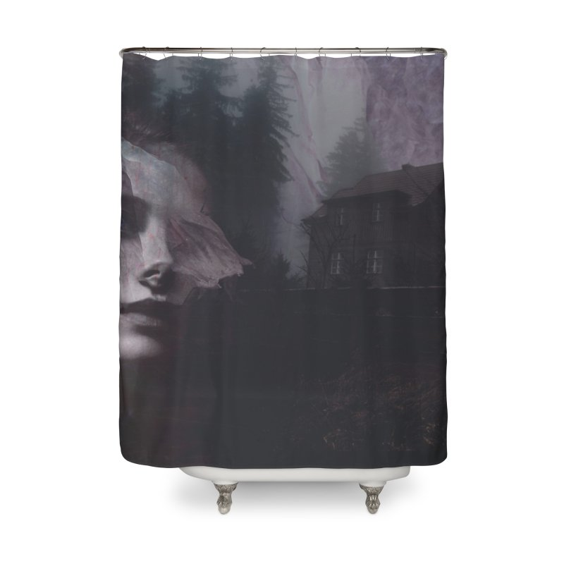 Ghost of Saturday Home Shower Curtain by George Ravenkult Cotronis
