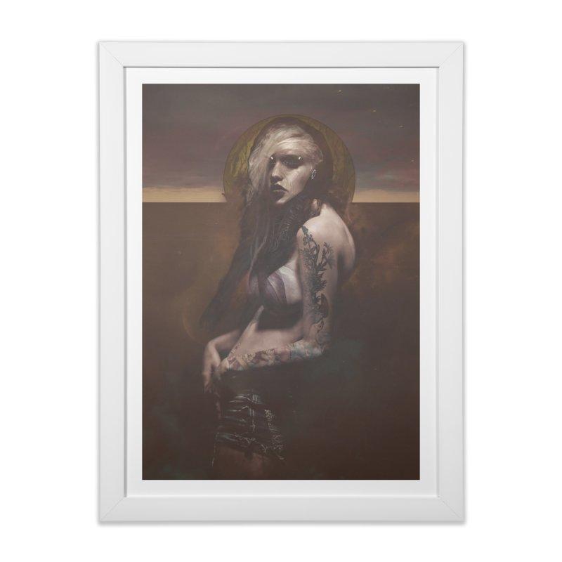 Lustful Beasts Home Framed Fine Art Print by George Ravenkult Cotronis
