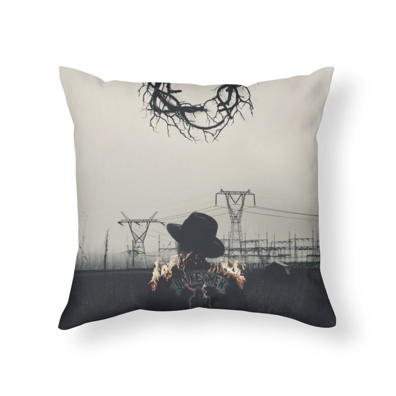 Voyager Home Throw Pillow by George Ravenkult Cotronis
