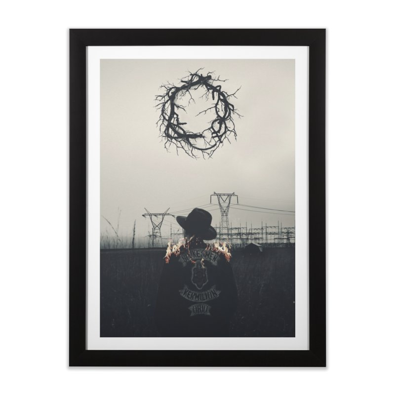 Voyager Home Framed Fine Art Print by George Ravenkult Cotronis