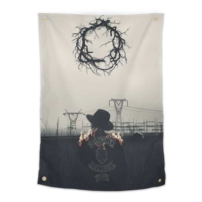 Voyager Home Tapestry by George Ravenkult Cotronis