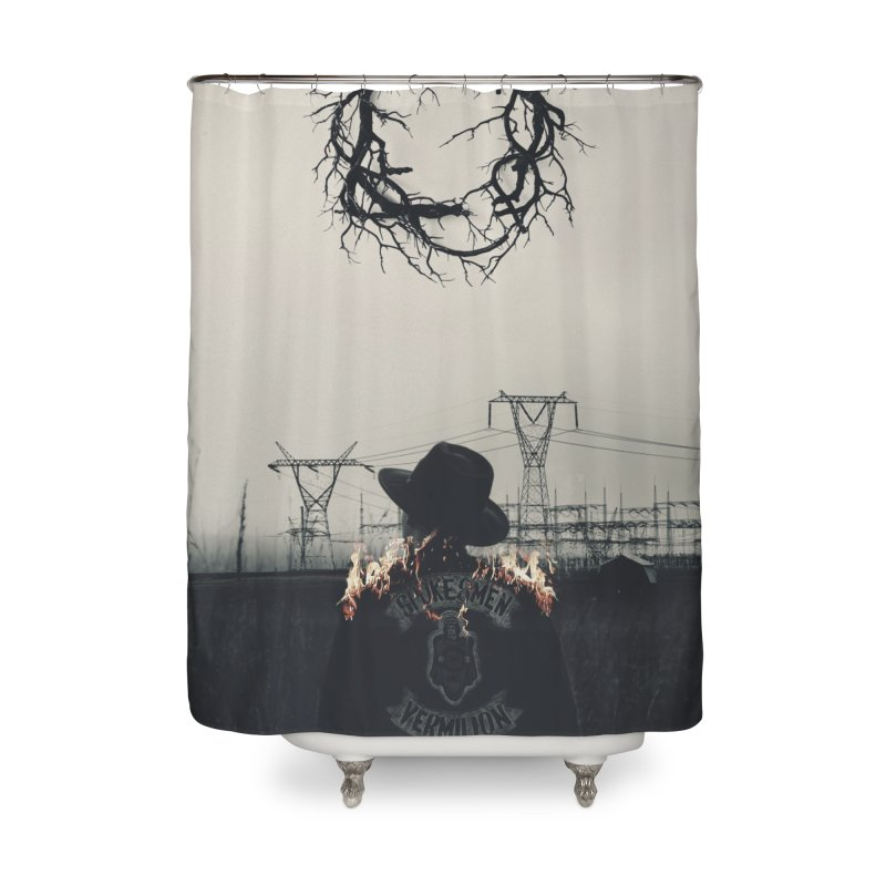 Voyager Home Shower Curtain by George Ravenkult Cotronis