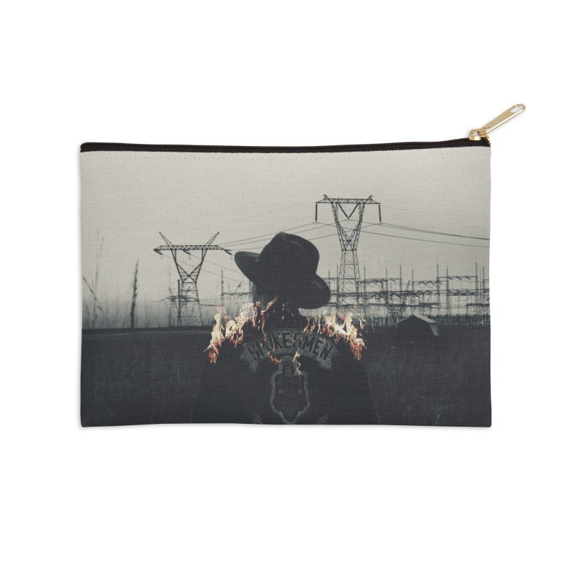 Voyager Accessories Zip Pouch by George Ravenkult Cotronis