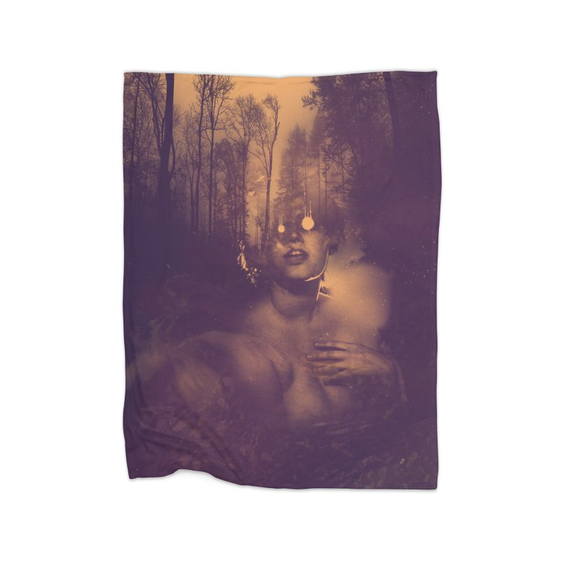 Dead + Rural Home Fleece Blanket Blanket by George Ravenkult Cotronis