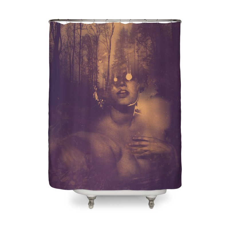 Dead + Rural Home Shower Curtain by George Ravenkult Cotronis