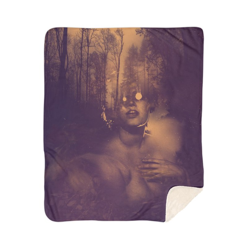 Dead + Rural Home Sherpa Blanket Blanket by George Ravenkult Cotronis