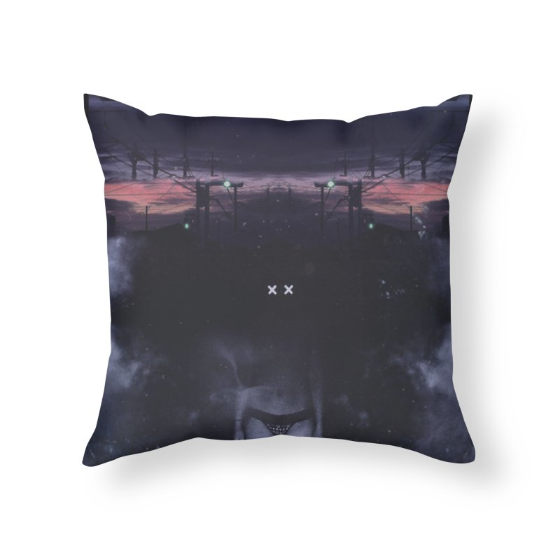 The XX Home Throw Pillow by George Ravenkult Cotronis