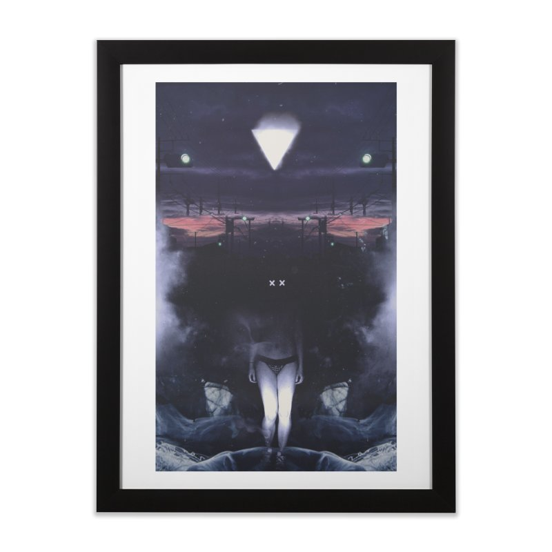 The XX Home Framed Fine Art Print by George Ravenkult Cotronis