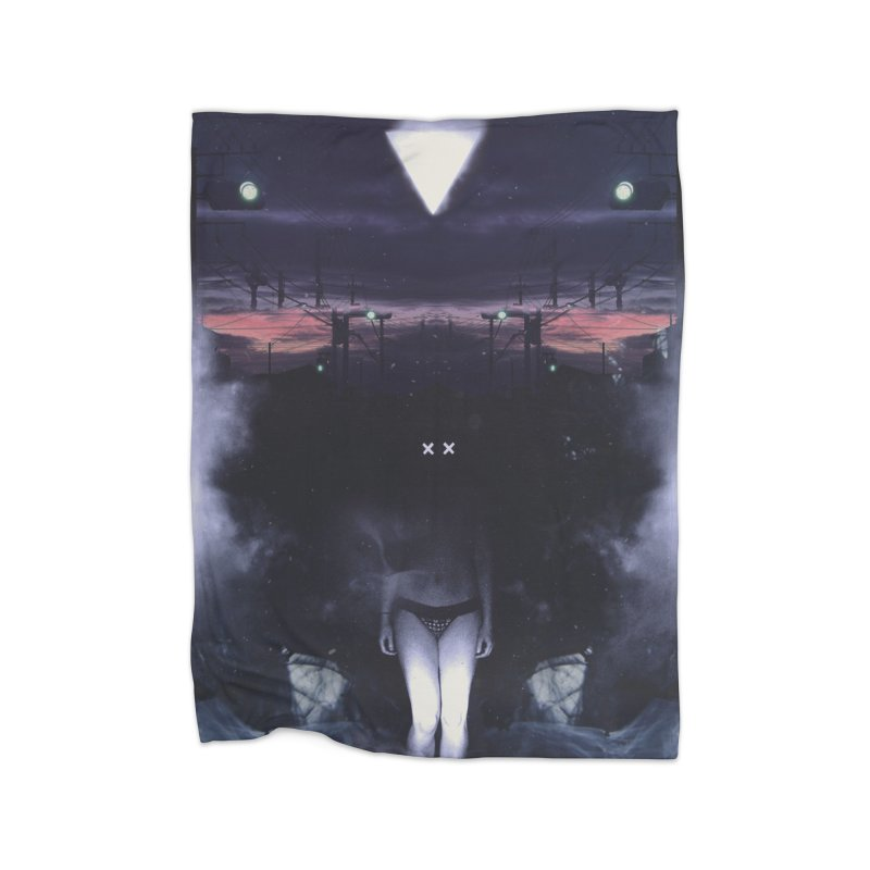 The XX Home Fleece Blanket Blanket by George Ravenkult Cotronis