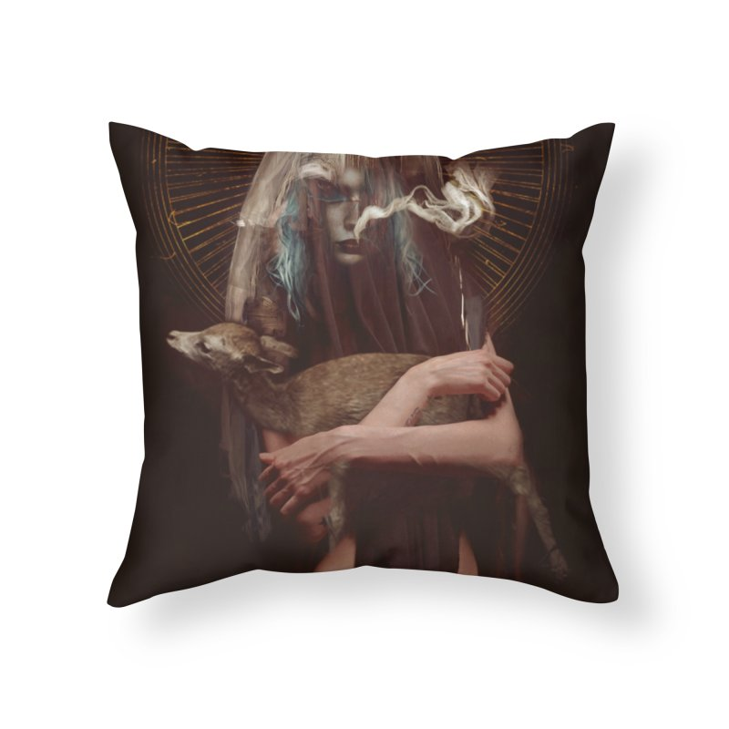 Dark Crystal Home Throw Pillow by George Ravenkult Cotronis