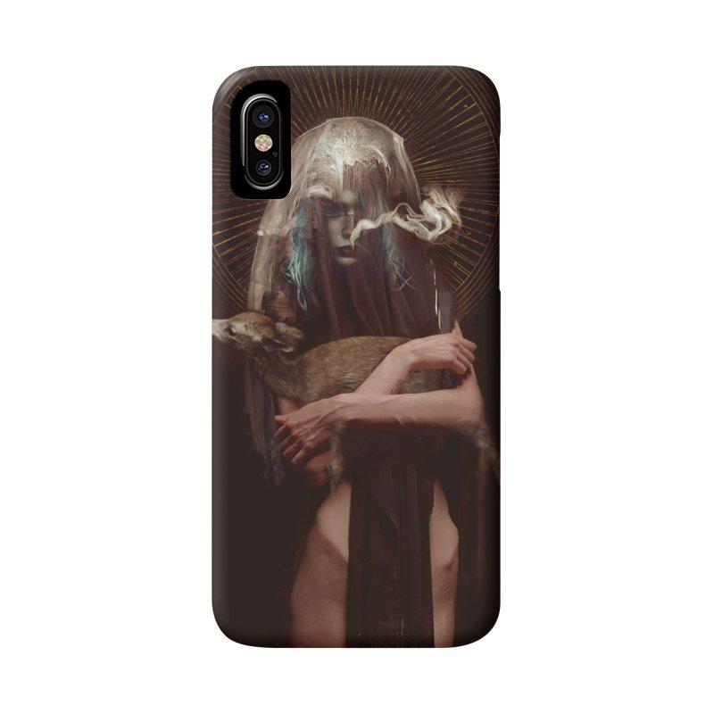 Dark Crystal Accessories Phone Case by George Ravenkult Cotronis