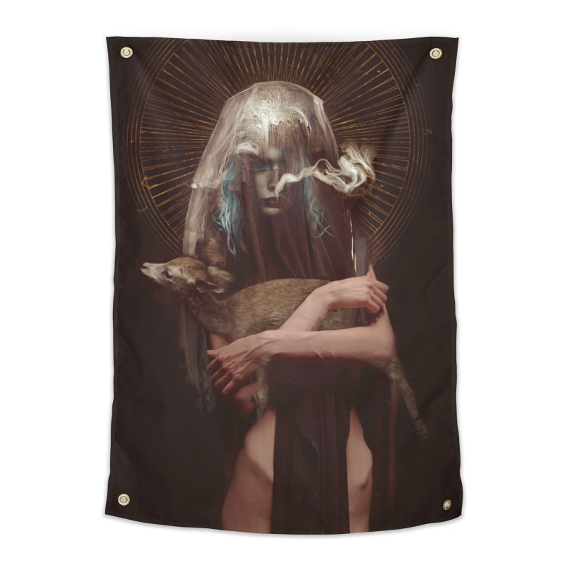 Dark Crystal Home Tapestry by George Ravenkult Cotronis