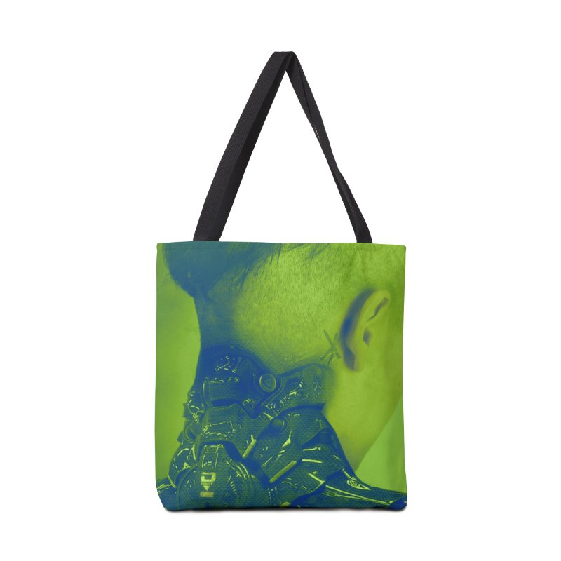 High Tech Low Life Accessories Tote Bag Bag by George Ravenkult Cotronis