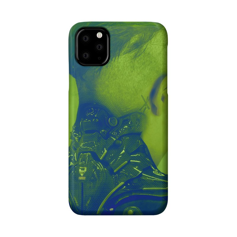 High Tech Low Life Accessories Phone Case by George Ravenkult Cotronis