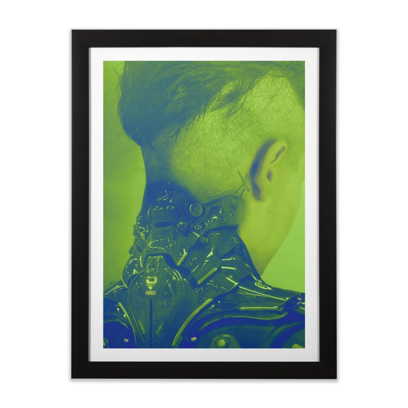 High Tech Low Life Home Framed Fine Art Print by George Ravenkult Cotronis
