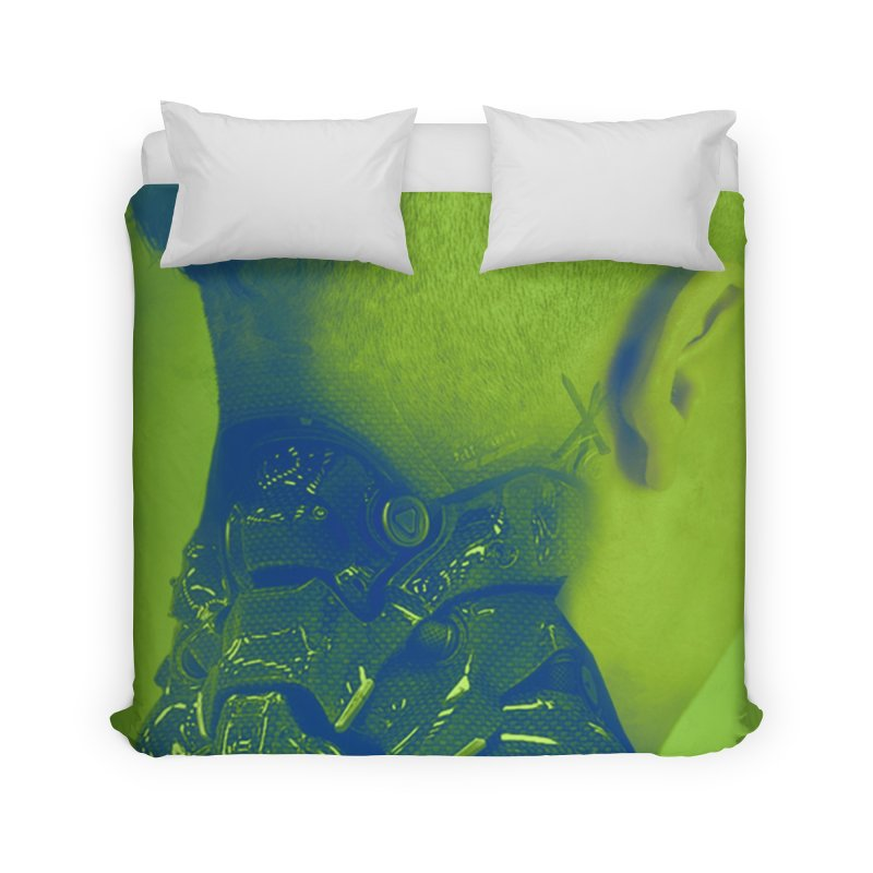 High Tech Low Life Home Duvet by George Ravenkult Cotronis