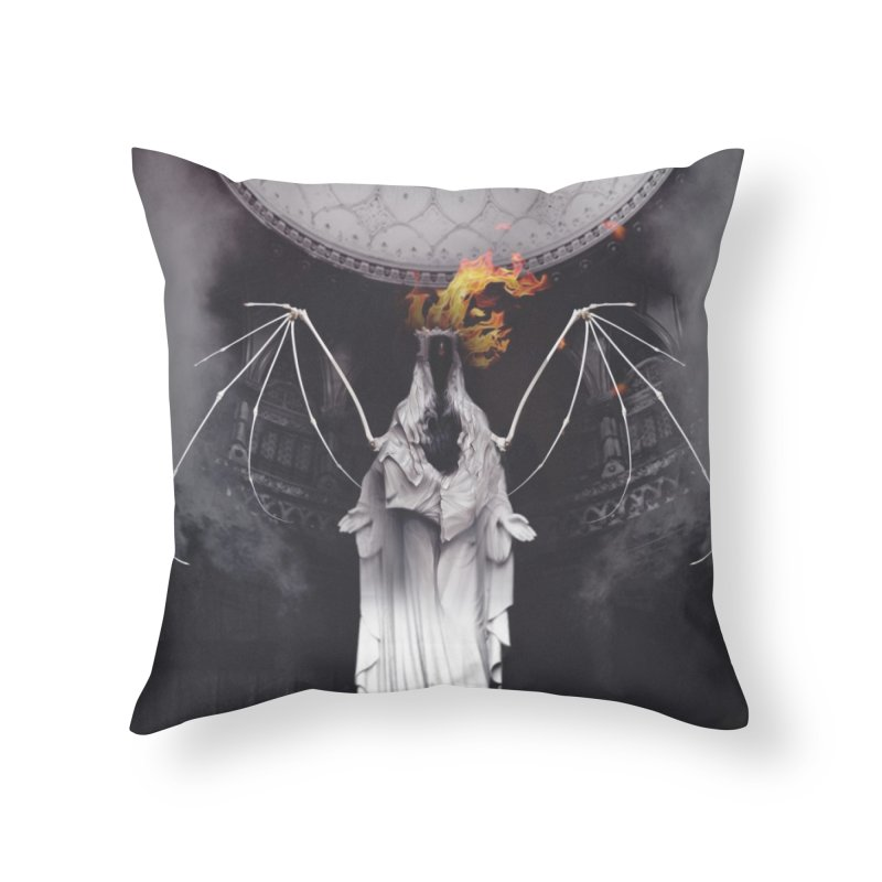 In the Wild Home Throw Pillow by George Ravenkult Cotronis