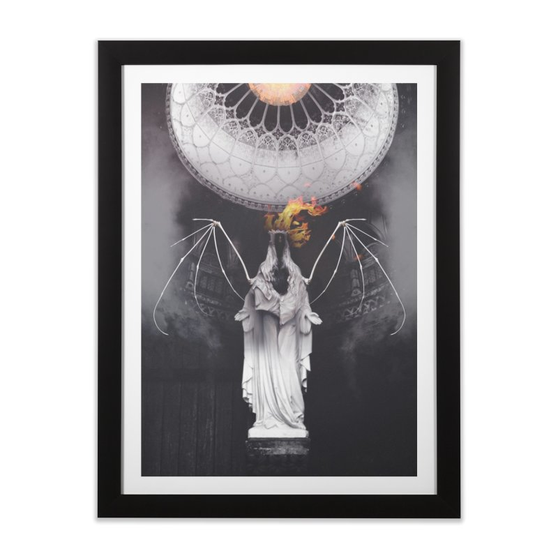 In the Wild Home Framed Fine Art Print by George Ravenkult Cotronis