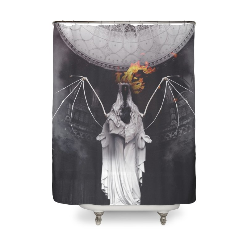 In the Wild Home Shower Curtain by George Ravenkult Cotronis