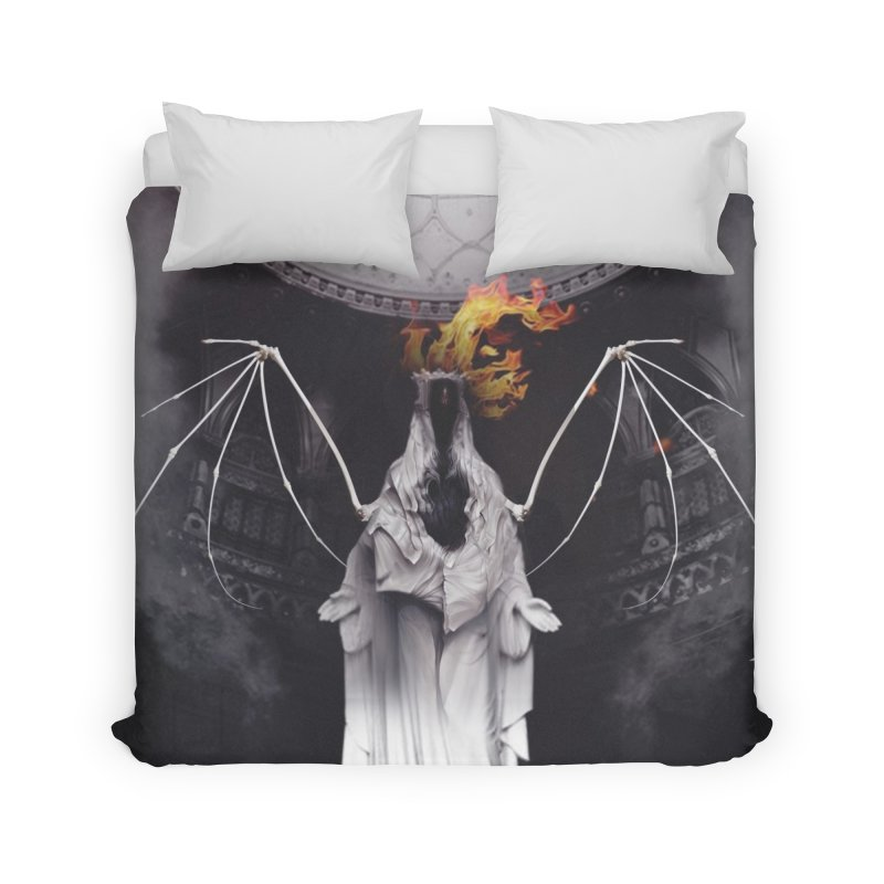 In the Wild Home Duvet by George Ravenkult Cotronis