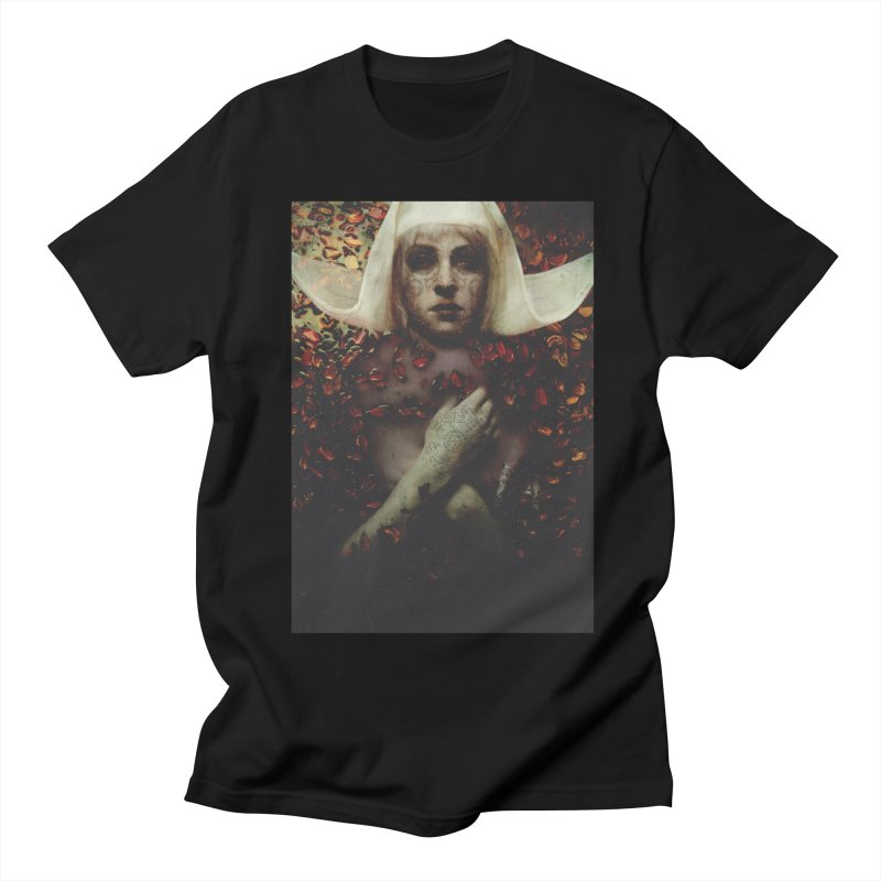 Dark Horse Men's Regular T-Shirt by George Ravenkult Cotronis