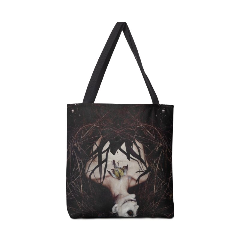 Aghast Accessories Tote Bag Bag by George Ravenkult Cotronis