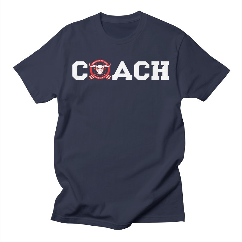 CFD Coach Shirt Men's T-Shirt by Courage Fitness Durham