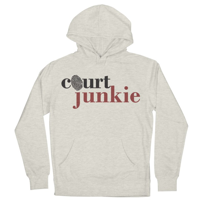 Women's Court Junkie Logo Women's French Terry Pullover Hoody by Court Junkie Store