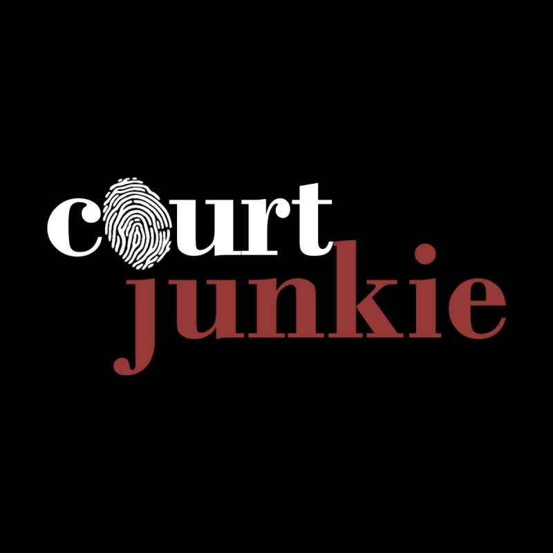 Men's Court Junkie Logo Men's T-Shirt by Court Junkie Store