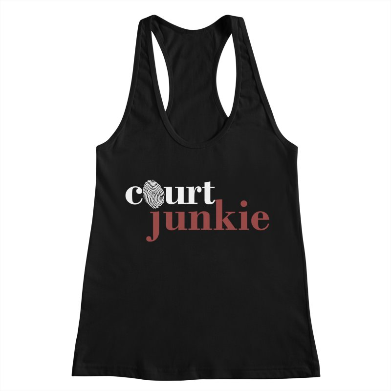 Women's Court Junkie Logo Women's Tank by Court Junkie Store