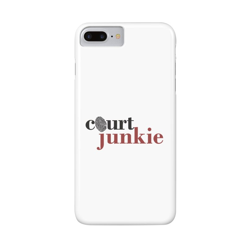 Logo on White Accessories Phone Case by Court Junkie Store