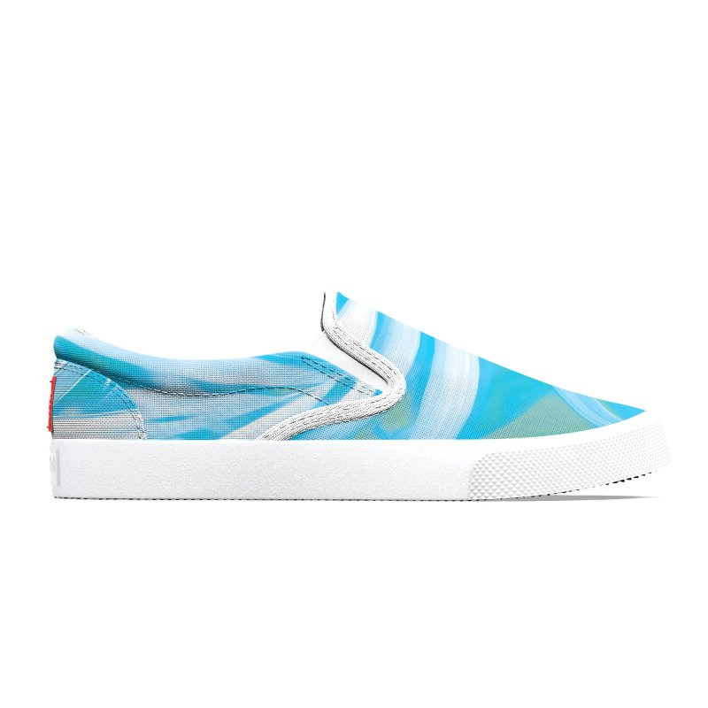 Tropical Sundae in Blue Women's Shoes by covereaux's Artist Shop