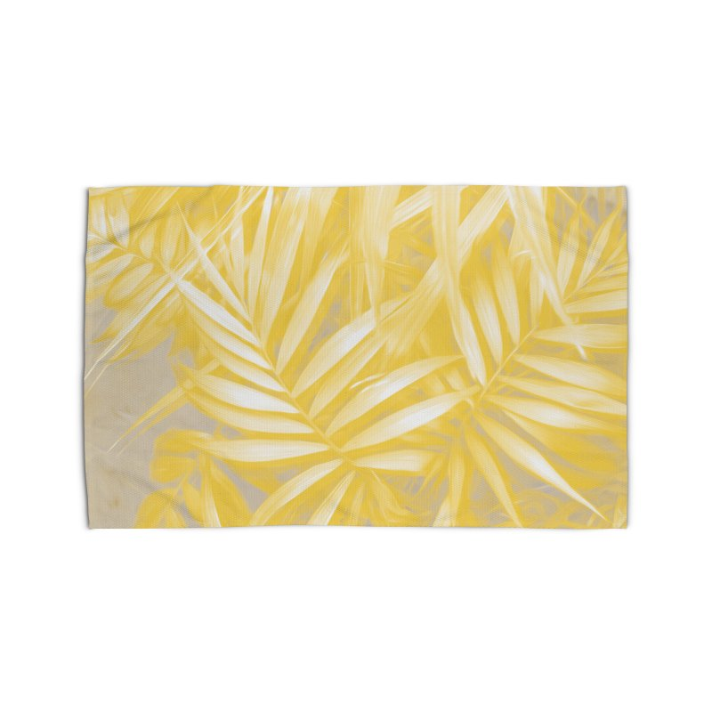 Tropical Sundae in Gold Home Rug by covereaux's Artist Shop