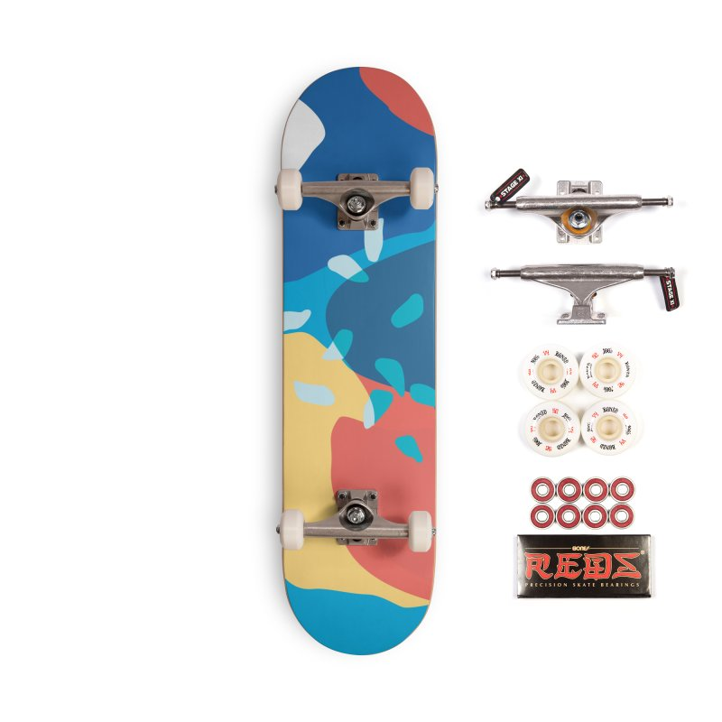 Summer Holiday Accessories Skateboard by covereaux's Artist Shop