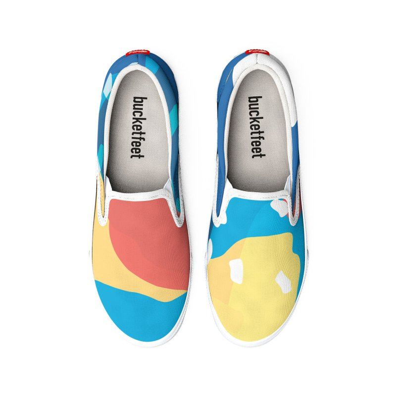 Summer Holiday Women's Shoes by covereaux's Artist Shop