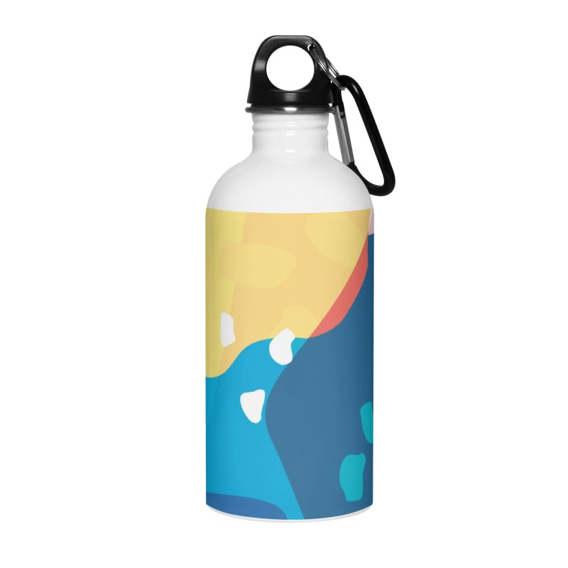 Summer Holiday Accessories Water Bottle by covereaux's Artist Shop