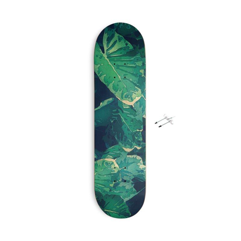Alocasia Accessories Skateboard by covereaux's Artist Shop